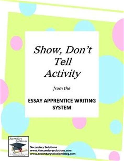 Descriptive Writing - Organization and Structure - Writing